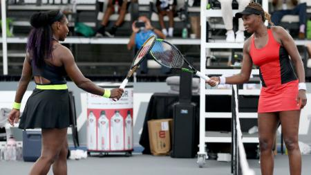 Venus dan Serena Williams. - INDOSPORT