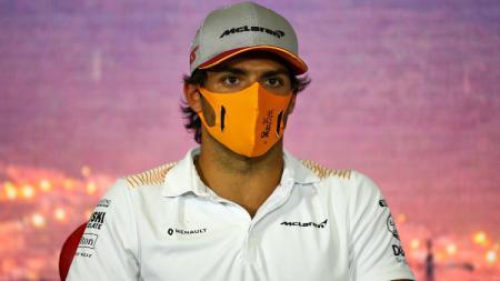 Pembalap tim F1 McLaren, Carlos Sainz. - INDOSPORT