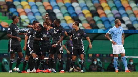 5 Alasan Taktik Guardiola di Manchester City Gagal Total vs Lyon - INDOSPORT