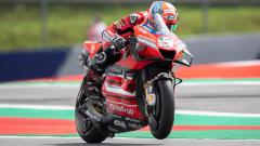 Indosport - Danilo Petrucci di sesi kualifikasi MotoGP Austria 2020.