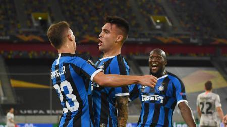 Bintang Inter Milan, Lautaro Martinez, merasa bahwa kemenangan yang diraih atas Shakhtar Donetsk merupakan impian yang sudah lama dinantikan. - INDOSPORT