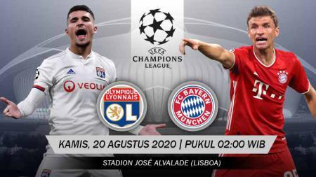 Bayern Munchen akan menghadapi Lyon di semifinal Liga Champions, Kamis (20/08/20). Berikut 5 sosok yang akan jadi kunci untuk meraih kemenangan. - INDOSPORT