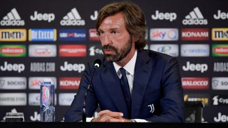 Pelatih Juventus, Andrea Pirlo, mengatakan bahwa timnya ketakutan dan membongkar banyak kesalahan mereka usai dikalahkan Inter Milan di Serie A Liga Italia. - INDOSPORT