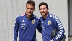 Indosport - Lautaro Martinez rekan senegara Lionel Messi bakal tolak Barcelona dan gabung Real Madrid pada bursa transfer lanjutan.