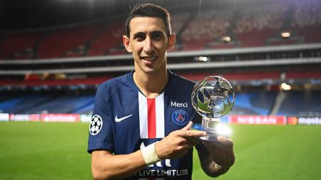 Bintang Paris Saint-Germain, Angel Di Maria di Liga Champions. - INDOSPORT