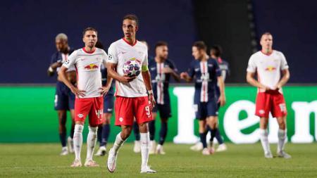 RB Leipzig dan PSG kembali berjumpa di Liga Champions musim ini. - INDOSPORT