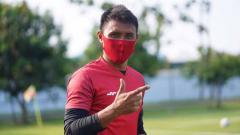 Indosport - Bek senior Persija Jakarta, Maman Abdurahman.