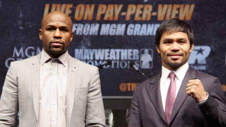 Rencana comeback Conor Mcgregor mendorong seorang milioner Arab Saudi bersedia mengucurkan uang untuk pertandingan ulang Manny Pacquiao vs Floyd Mayweather. - INDOSPORT