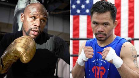 Kisah Floyd Mayweather yang 'Merinding' Saat Mengenang Masa-masa Mengerikan Manny Pacquiao di Atas Ring - INDOSPORT