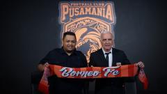 Indosport - Mario Gomez resmi bergabung dengan Borneo FC.