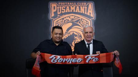 Baru saja kembali ke klub Liga 1 2020, Borneo FC pada Agustus lalu, Mario Gomez, disebut bakal hengkang bila dapat tawaran ke Malaysia. - INDOSPORT