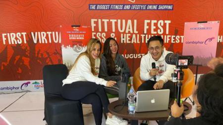 Acara olahraga online yang bertajuk Shopee Fittual Fest untuk membantu masyarakat tetap produktif di tengah pandemi - INDOSPORT
