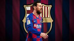 Indosport - Jilat ludah sendiri nampak dilakukan oleh Lionel Messi usai batal ke Manchester City. La Pulga lantas beri pernyataan kepada raksasa LaLiga Spanyol, Barcelona.