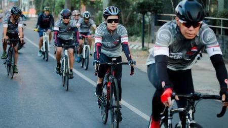 Prudential Indonesia sukses menggelar PRURide Indonesia 2020 Virtual Ride, event sepeda virtual pertama di Tanah Air pada 20-23 Agustus 2020. - INDOSPORT
