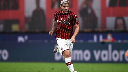 Theo Hernandez, bek sayap AC Milan - INDOSPORT