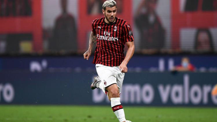 Theo Hernandez, bek sayap AC Milan Copyright: Nicolò Campo/LightRocket via Getty Images