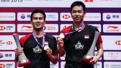 Indosport - Media asing takjub penampilan 'jahat' pasangan ganda putra Indonesia Mohammad Ahsan/Hendra Setiawan di usia yang tidak lagi muda.