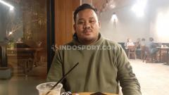 Indosport - Rizal Danyarta saat bertemu dengan INDOSPORT di Solo.