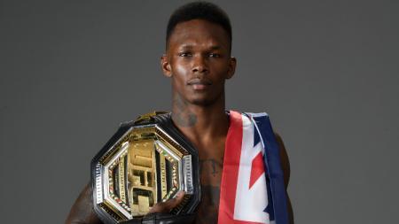 Petarung UFC Israel Adesanya. - INDOSPORT