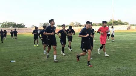 Suasana latihan perdana PSIS jelang lanjutan Liga 1 2020. - INDOSPORT