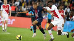Indosport - Penyerang PSG, Kylian Mbappe.
