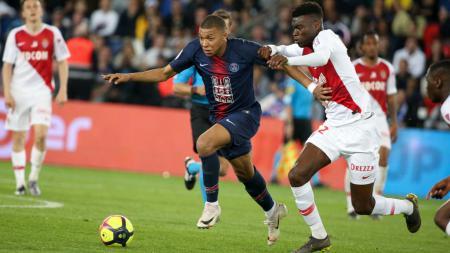 Kylian Mbappe meyakini bahwa klubnya tersebut bisa juara Liga Champions musim depan dengan catatan Paris Saint-Germain harus beli pemain baru - INDOSPORT