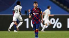 Indosport - Raksasa LaLiga Spanyol, Barcelona siaga perang. Lionel Messi ajak ribut rekan sekaligus kiper utama tim, Marc-Andre ter Stegen.