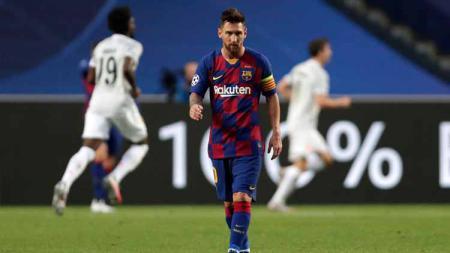 Raksasa LaLiga Spanyol, Barcelona musti buat Lionel Messi berkorban jika ingin bisa bertahan lalui musim. Cukup ironis setelah sang pemain bersikeras mau pindah. - INDOSPORT