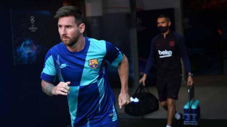 Berminat gaet Lionel Messi usai kontraknya bakal habis dari Barcelona pada bursa transfer, PSG malah kena senjata makan tuan. - INDOSPORT