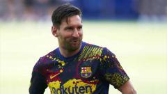 Indosport - Pemain Barcelona, Lionel Messi bisa bertahan asalkan lima bintang tak terduga ini didatangkan klub LaLiga Spanyol tersebut.