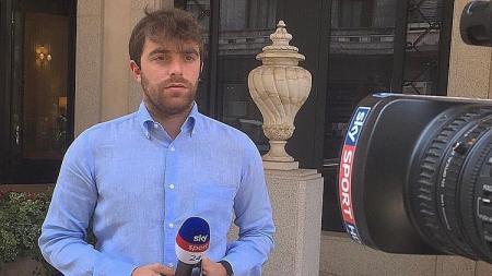 Fabrizio Romano, jurnalis sepak bola Italia. - INDOSPORT