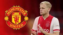 Indosport - Pelatih Manchester United, Ole Gunnar Solskjaer punya andil besar meyakinkan Donny van de Beek untuk bergabung ke Old Trafford.