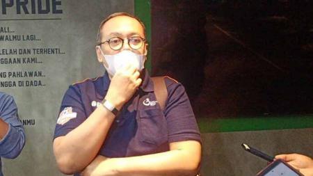 Direktur PT LIB, Akhmad Hadian Lukita. - INDOSPORT