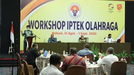 Kemenpora terus menyelaraskan semangat tema Hari Olahraga Nasional (Haornas) 2020 di kancah olahraga Indonesia. - INDOSPORT