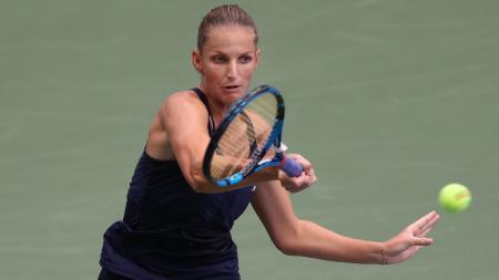 Karolina Pliskova di AS Terbuka 2020. - INDOSPORT