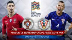Indosport - Berikut prediksi pertandingan gelaran UEFA Nations League (UNL) 2020/2021 Liga A Grup 3 antara juara bertahan Portugal vs Kroasia.