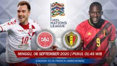 Indosport - Berikut prediksi pertandingan Denmark melawan Belgia di ajang UEFA Nations League 2020 Grup A, Minggu (06/09/20) pukul 01.45 WIB di Stadion Parken.
