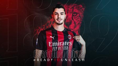 AC Milan kembali meraih hasil gemilang di laga pramusim dengan menghajar tim Serie B, Vicenza, 5-1. Pemain anyar Brahim Diaz ikut mencetak gol di laga tersebut. - INDOSPORT