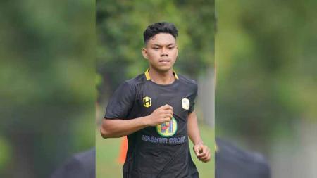 Profil pemain muda PS Barito Putera, Alif Jaelani, yang membobol gawang Arema FC di Piala Menpora 2021. - INDOSPORT