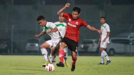 Uji Coba Madura United vs PON Jatim - INDOSPORT