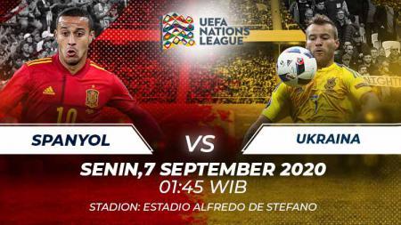 Prediksi pertandingan Spanyol vs Ukraina. - INDOSPORT