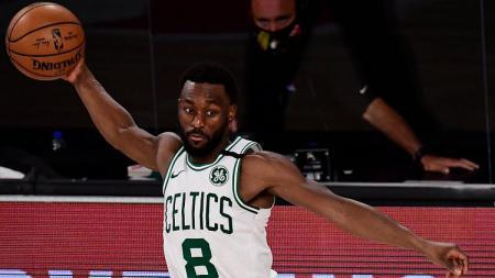 Pemain Boston Celtics, Kemba Walker. - INDOSPORT