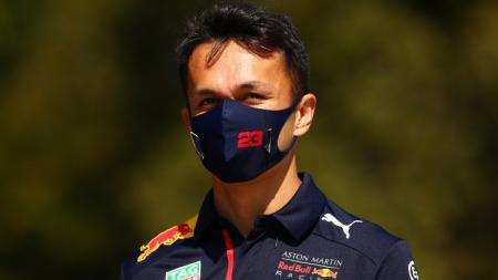 Alex Albon, pembalap F1 dari tim Red Bull Racing. - INDOSPORT