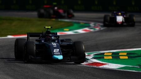 Dan Ticktum, pembalap DAMS di Formula 2 GP Italia 2020. - INDOSPORT