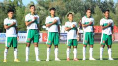 Indosport - Media Malaysia Kaget Timnas Indonesia U-19 Bungkam Raksasa Kroasia, Dinamo Zagreb.