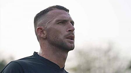 Striker Persija, Marko Simic dapat tawaran eks klub Luka Modric dan Mario Mandzukic. - INDOSPORT