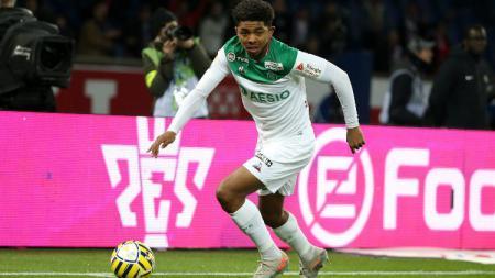 Wesley Fofana, pemain Saint Etienne. - INDOSPORT