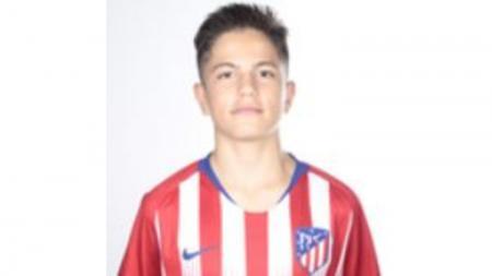 Alejandro Garnacho saat di Atletico Madrid. - INDOSPORT