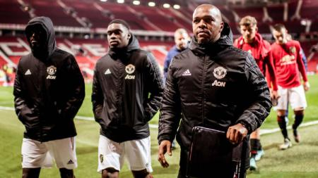 Quinton Fortune, pelatih Manchester United U-23. - INDOSPORT