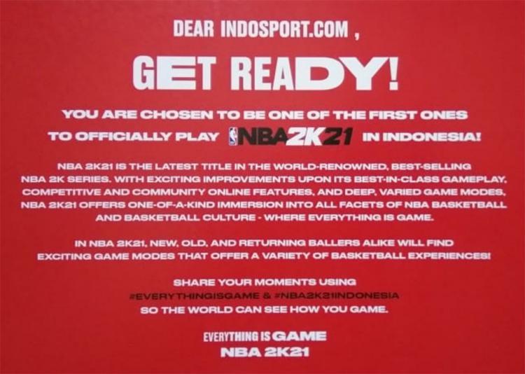 INDOSPORT.COM mendapatkan kesempatan untuk mereview games terbaru dari NBA 2K21. Copyright: nba.2k.com